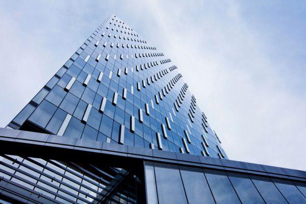 شیشه دو جداره لمینت ساختمانی